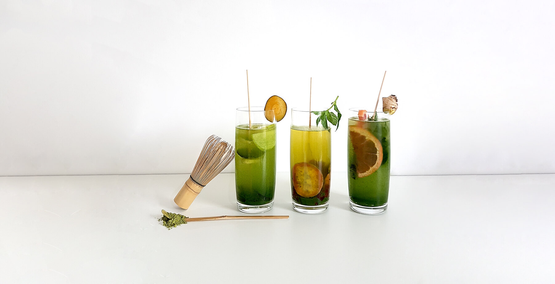 Matcha Rezepte Infused Water
